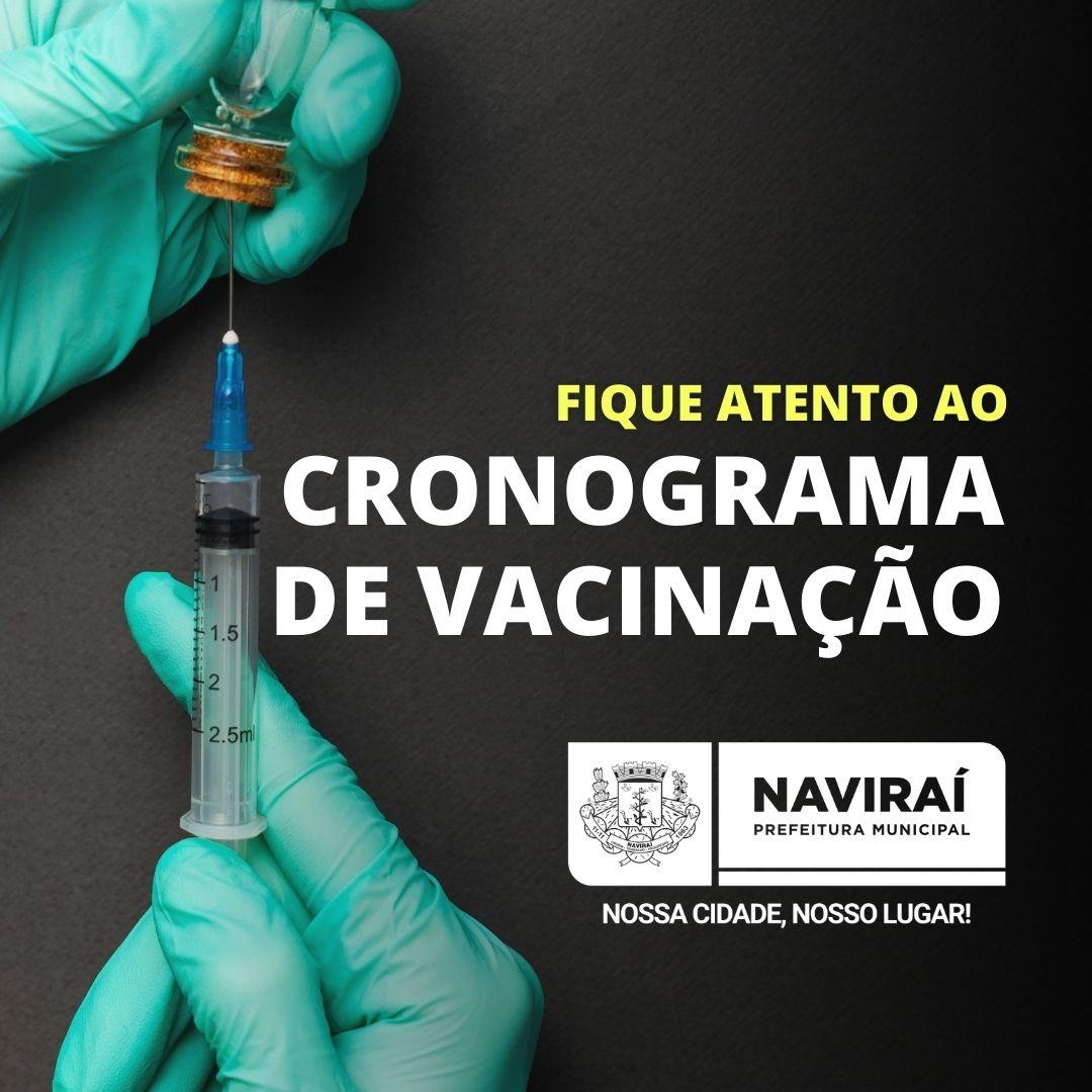 Fique Atento ao Cronograma de Vacinação em Naviraí
